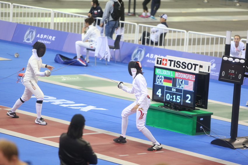 From 24- 26 January, the 2020 Fencing Grand Prix took place at Aspire Academy.