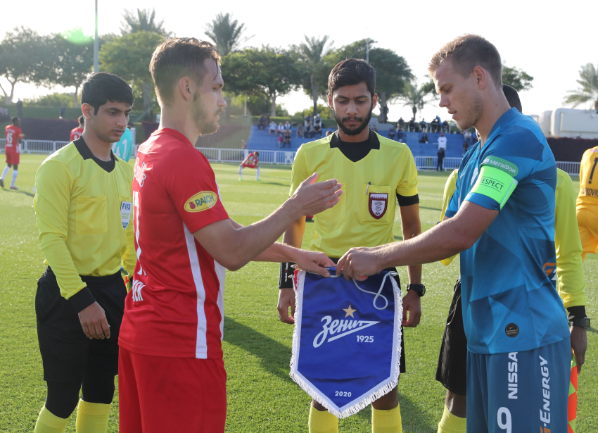 On January 25, an international friendly between FC Red Bull Salzburg (Austria) and FC Zenit (Russia) took place at Aspire.