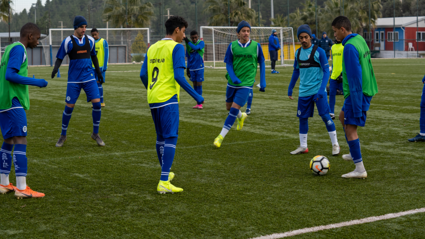 From January 2 to 9, two generations of Aspire Academy's Football Department are holding a training camp in Izmir, Turkey.